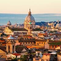 Rom im Morgengrauen