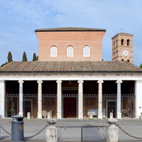 San Lorenzo und Sant'agnese  Santa Costanza