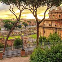 Die sieben Hügel Roms